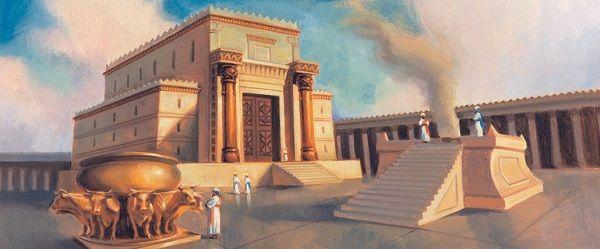 O que é o templo de Salomão, o templo de Zorobabel e o Templo de Herodes?