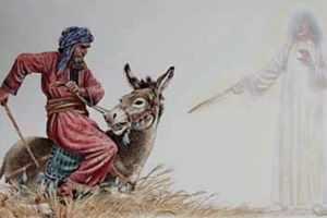 Por que Deus mandou Balaão ir com os moabitas e depois ficou irado com ele?