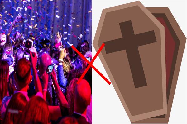 Por que Salomão disse que é melhor ir ao velório do que em festas se isso não é verdade?