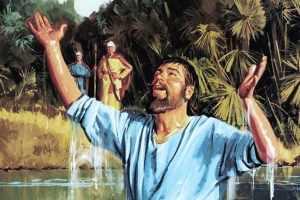 Por que Naamã teve que dar 7 mergulhos no rio Jordão? Quais as lições disso?