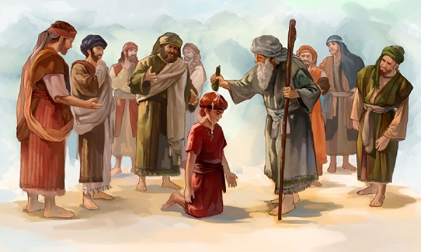 Jessé, pai de Davi, teve sete ou oito filhos?