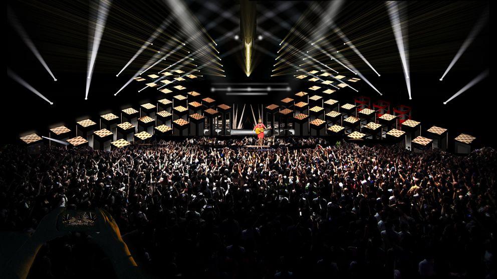 Sweden Melodifestivalen 2018 Stage Design Revealed ESCplus