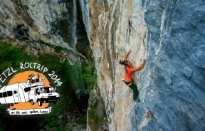 Video escalada deportiva Petzl RocTrip Rumania 2014