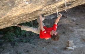 Dave MacLeod y su primer 8c en solo en Margalef
