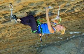 Emily Harrington en el Petzl RocTrip Red River Gorge 2007
