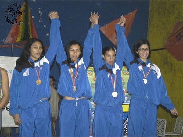 Escalada en los Juegos No Olimpicos 2006