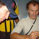 Escaladores Kurt Albert y Stefan Glowacz en Venezuela