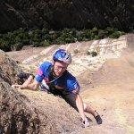 Hermanos Pou escalando en Madagascar