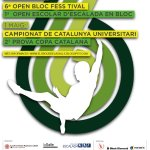 Poster 6to Open Boulder Fess-tival La Salle