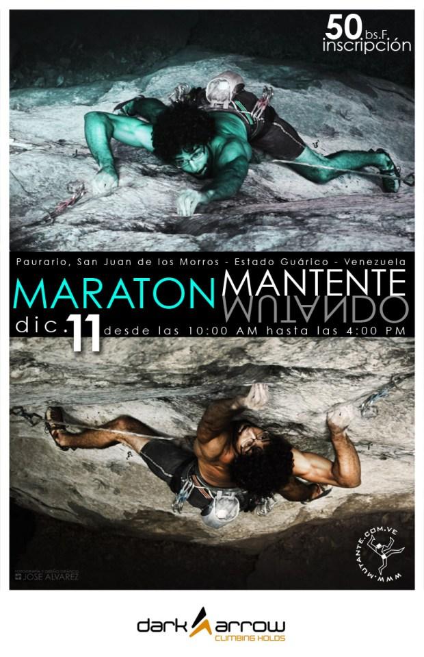 Maratón de escalada en Roca Mantente Mutando - Venezuela