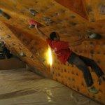 Abierto de escalada en boulder SANHIBLOC Serie 1