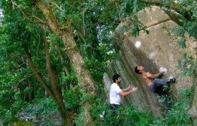 Video de escalada boulder en Sintra