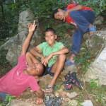 Niños del poblado de Torrellero - Foto Villan Alayón