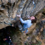 Chris Sharma en First Round First Minute 9b - Foto Pete O'donovan