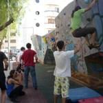 Curso de entrenamiento físico de escalada en Ibiza 2011 por Eva López
