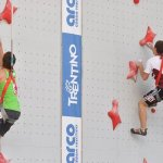 Alemania vs Venezuela Campeonato Mundo Escadala Velocidad IFSC 2011 Arco - Foto Giulio Malfer