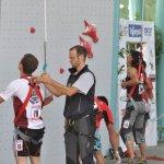 Erik Noya Campeonato del Mundo de Escadala en Velocidad IFSC 2011 Arco - Foto Giulio Malfer
