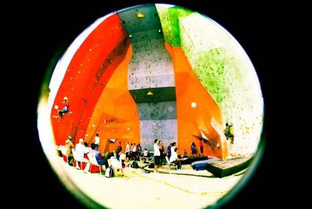 Naciones Unidas 1era Válida de Bloque Copa Venezuela Senior de Escalada 2011 - Foto Gabriela Folgar