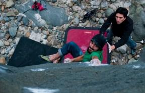 Sector de boulder La Cuarta Región en Chile
