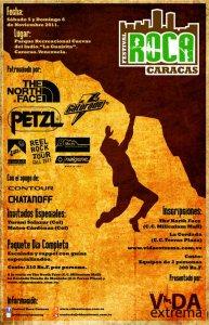 2do Festival Roca Caracas en la escuela de escalada La Guairita