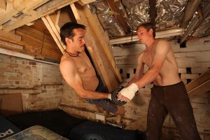 Tom Randall y Pete Whittaker entrenando. Foto: archivo Randall & Whittaker