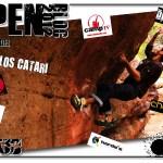 Carlos Catari en el 8vo Open Bloc Els Bous de la Salle