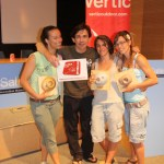 Podium femenino Liga de Boulder Interclubs