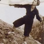 Carme Romeu primera mujer en escalar el Cavall Bernat