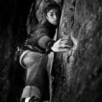 Helena Alemán en el Barrancot de Serradell – Foto Carlos Pérez Díaz