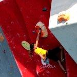 Berta Martin ganadora del Master de Boulder Desplomat 2012
