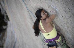 Daila Ojeda en video The North Face Kalimnos Climbing Festival 2012