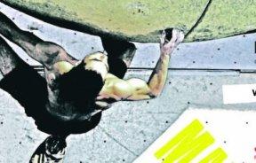 Fiesta de escalada en Madrid Eskala en Bloke II en al IFEMA