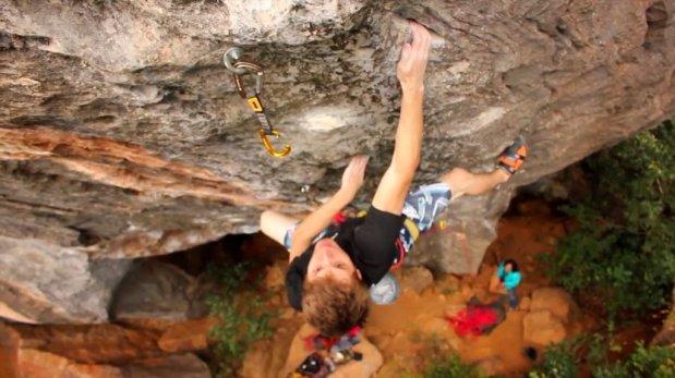 Pelicula de escalada Brasil Vertical por Felipe Camargo