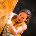Caroline Ciavaldini 6to The North Face Master bouldering en Chile