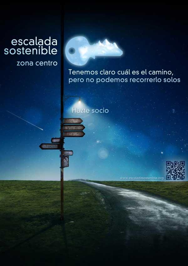 Hazte Socio de Asociación Escalada Sostenible Zona Centro