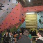 Inauguracion nueva sala de boulder La Farinera en Vic