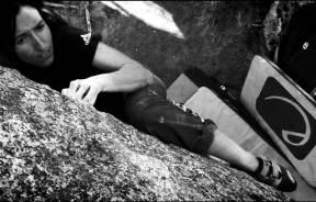 Video de la escaladora catalana Núria Serra els bous de la salle