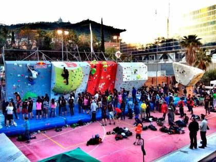La 9a Edición del Open Bloc Els Bous de la Salles reune a 550 escaladores