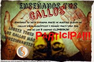 """Afiche del concurso """"Enseñanos tus Callos"""" 9no Aniversario de Mutante"""