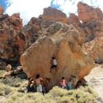 Boulder la Tortuga en Las Cañadas del Teide - Tenerife