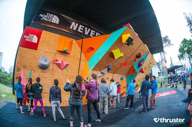 Segundo The North Face Master Bouldering Perú 2014