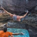 Chris Sharma escalada boulder en el Auyantepuy Venezuela