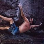 Dani Andrada escalada boulder en el Auyantepuy Venezuela