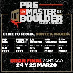 The North Face Master de Boulder – La Serena - Chile @ BoulderSide en La Serena | La Serena | Región de Coquimbo | Chile