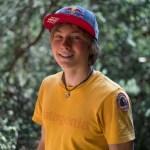 Alex Megos en sector El Arrayán del Bosque Magico en Chile - Foto Nicolas Gantz