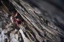 Escaladores internacionales al RockTrip TNF Valle de los Cóndores en Chile - Foto Nico Gantz