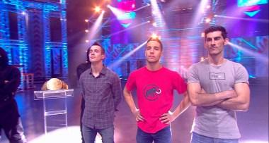 Escaladores finalistas del Ninja Warrior España 2017