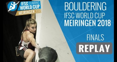 Video final Copa del Mundo Escalada Boulder IFSC 2018 en Meiringen - Suiza