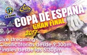 Video final IV Copa España de Escalada Boulder FEDME 2017