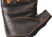 guantes de cuero para via ferrata